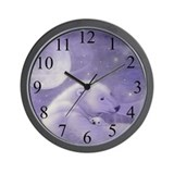 Gentle Winter Wall Clock