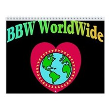 BBW WorldWide 2013 Wall Calendar