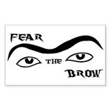 Fear the Brow Decal