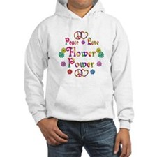 Peace Love Flower Power Hoodie