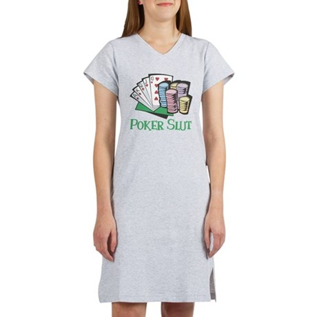 Poker Slut Women's Nightshirt