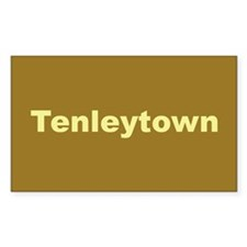 Tenleytown Rectangle Decal