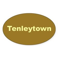 Tenleytown Oval Decal