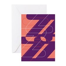 Letter Z Greeting Cards (Pk of 10)