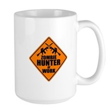 Zombie Hunter Sign Mug