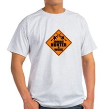 Zombie Hunter Sign T-Shirt