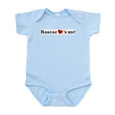 Roscoe loves me Infant Creeper