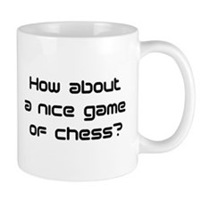game of chess Mug