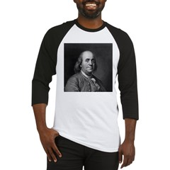 Ben Franklin: Portrait Baseball Jersey