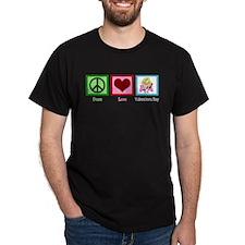 Peace Love Valentine T-Shirt