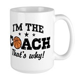 Basketball Coach Mug