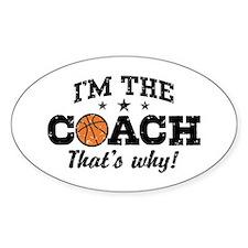 Basketball Coach Decal