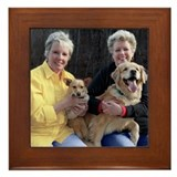 Dot, Betty, Charlie & Annie Framed Tile
