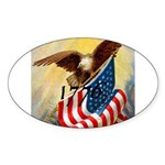 1776 SPIRIT OF™ Sticker (Oval 10 pk)
