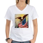 1776 SPIRIT OF™ Women's V-Neck T-Shirt