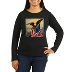 1776 SPIRIT OF™ Women's Long Sleeve Dark T-Shirt