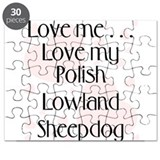 Love Me...Love My Polish Lowl Puzzle
