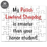 My Polish Lowland Sheepdog is Puzzle