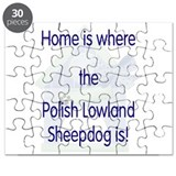 Home...Polish Lowland Sheepdo Puzzle