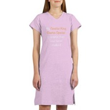 My Cavalier King Charlies Spa Women's Nightshirt