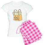 Funny Tofu Tote Women's Light Pajamas