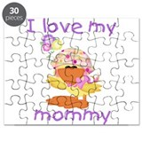 I love my mommy (baby girl du Puzzle