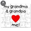 My grandma and grandpa love m Puzzle