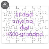 If dad says no...(purple) Puzzle