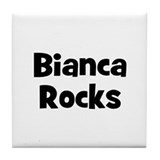 Bianca Rocks Tile Coaster
