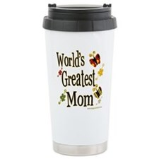 Mom Butterflies Ceramic Travel Mug