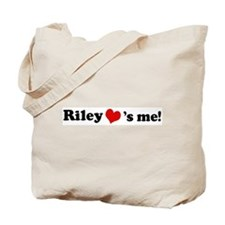 Riley loves me Tote Bag