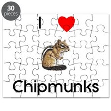 I love Chipmunks Puzzle