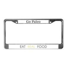 Cute Primal License Plate Frame