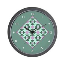 Cool Quilt Wall Clock