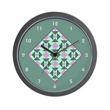 Funny Quilt in a day Wall Clock
