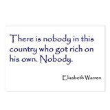 Warren Quote Postcards (Package of 8)