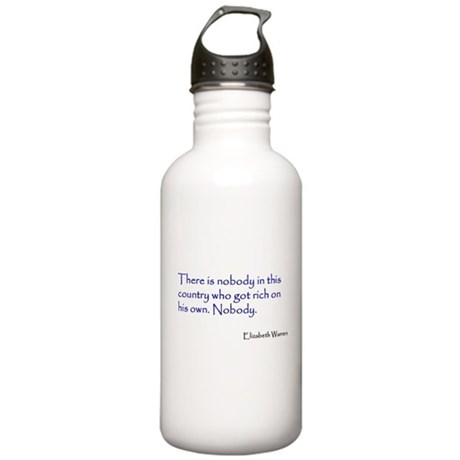 Warren Quote Stainless Water Bottle 1.0L