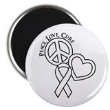 Peace, Love, Cure Magnet