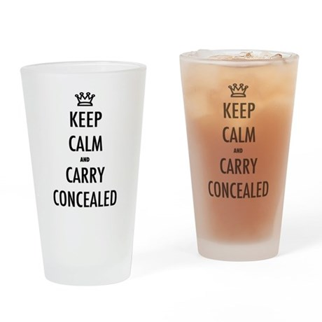 Carry Concealed Drinking Glass