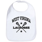 West Virginia Lacrosse Bib