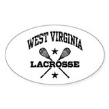 West Virginia Lacrosse Decal