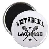 West Virginia Lacrosse Magnet
