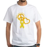 Peace, Love, Cure Shirt