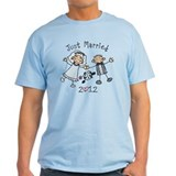 Stick Just Married 2012 T-Shirt