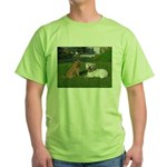 .the boys. Green T-Shirt