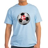 Danish soccer ball T-Shirt