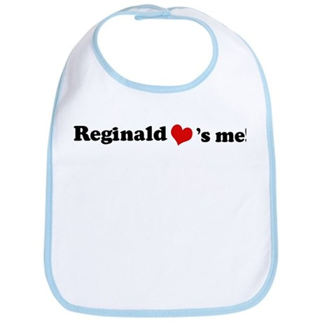 Reginald loves me Bib