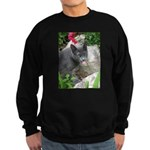 .sarcasti-cat. Sweatshirt (dark)