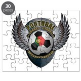Portuguese soccer ball with crest Puzzle
