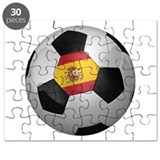 Spanish soccer ball Puzzle